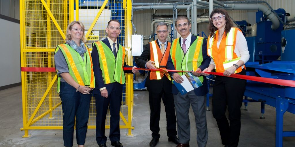 Veolia facility opens in Pickering