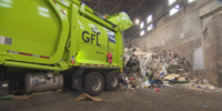 GFL Recycling Truck. Photo credit: CBC